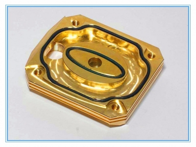 CNC cavity finish milling radiators
