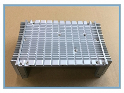 Aluminum extrusion radiators