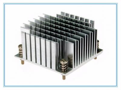 Aluminum extrusion radiators
