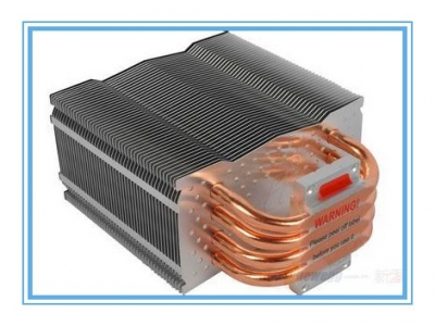 鳍片焊接散热器.